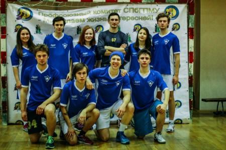 Команда ИТМО натурнире Студенческий СЗЛ 2015 (Микс дивизион, 6/8)
