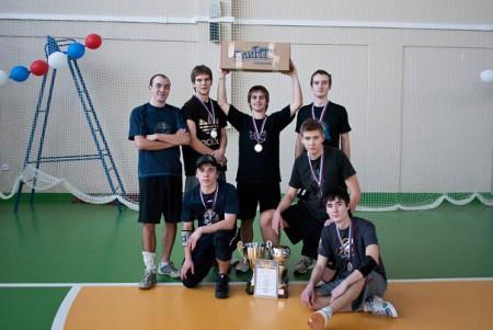 Команда ННГУ натурнире Летящий SpiNN 2010 (ОД, 1/9)