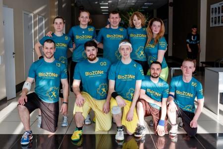 Команда BioZONe натурнире Кубок Дубны 2016 (Микс дивизион, 3/20)