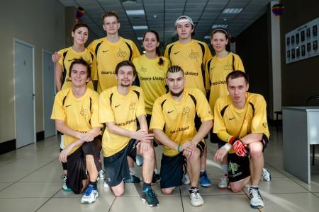 Команда Gears United натурнире Кубок Дубны 2016 (Микс дивизион, 10/20)