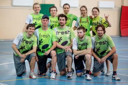 Команда Fresh натурнире Кубок Дубны 2016 (Микс дивизион, 7/20)