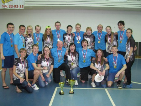 Команда Риал Файв натурнире Лорд Новгород 2012 (ОД, 1/28)