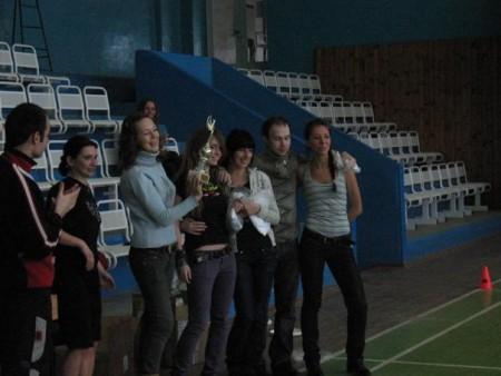 Команда НГЛУ натурнире Летящий SpiNN 2009 (II дивизион, 4/4)