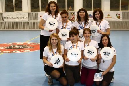 Команда Зорачкi натурнире Минск 2011 (ЖД, 3/8)