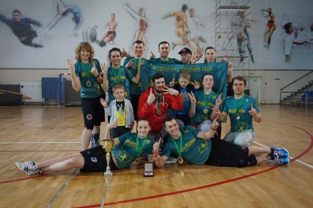 Команда BioZONe натурнире Весеннее Обострение 2016 (Микс дивизион, 3/12)