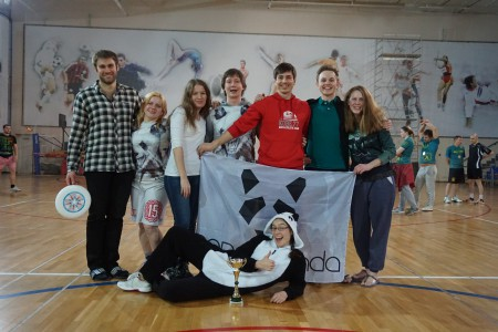 Команда ПандаБанда натурнире Весеннее Обострение 2016 (Микс дивизион, 5/12)