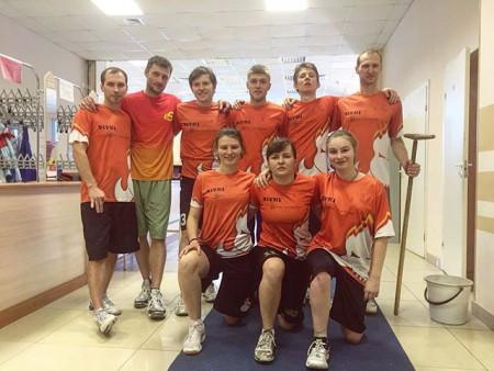 Команда Bivni натурнире Весеннее Обострение 2016 (Микс дивизион, 10/12)