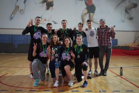 Команда СОБР натурнире Весеннее Обострение 2016 (Микс дивизион, 2/12)