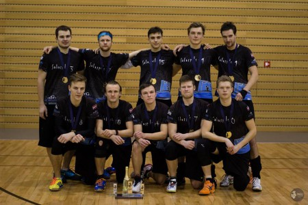 Команда Salaspils WT натурнире BUCCi 2015 (ОД, 1/4)