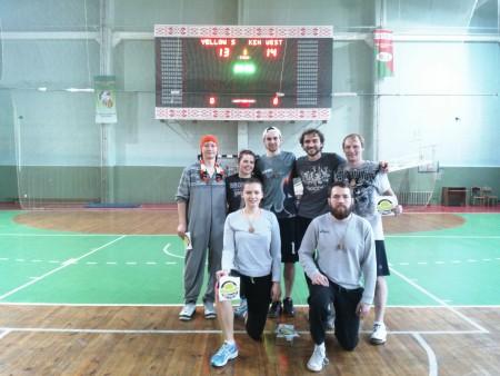 Команда Ken Westerfield натурнире Капялюш 2016 (Микс дивизион, 1/10)