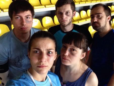 Команда Мята в револьвере натурнире Капялюш 2016 (Микс дивизион, 7/10)
