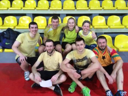 Команда Yellow Submarine натурнире Капялюш 2016 (Микс дивизион, 2/10)