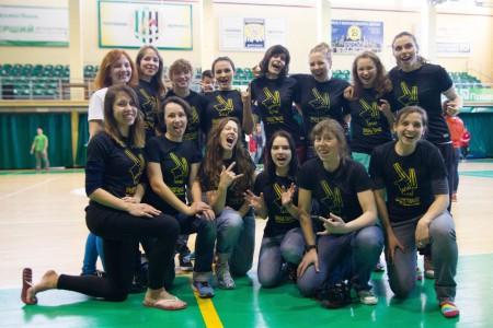 Команда Дикі Кралі натурнире ЗЧУ 2016 (ЖД, 4/10)