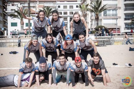 Команда SHARKS натурнире Costa Brava 2016 (Микс дивизион, 19/21)