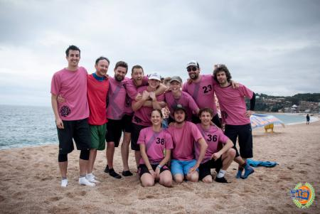 Команда XLR8RS натурнире Costa Brava 2016 (Микс дивизион, 21/21)