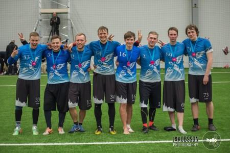 Команда Tallinn Thunder натурнире Hello Stockholm 2016 (ОД, 2/28)