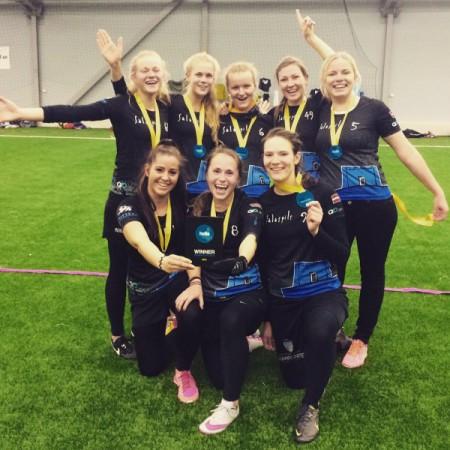 Команда Salaspils FK натурнире Hello Stockholm 2016 (ЖД, 1/22)