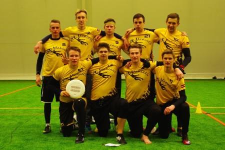 Команда Ventspils ''UltiManiacs'' натурнире Kick in de Kok 2016 (ОД, 10/24)