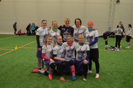 Команда Lynx натурнире Kick in de Kok 2016 (ЖД, 7/13)