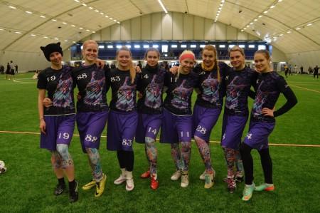 Команда Lynx Jr натурнире Kick in de Kok 2016 (ЖД, 13/13)