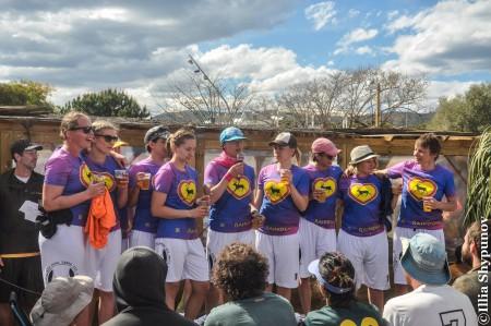 Команда Raindears натурнире Copa Tanga 2016 (ЖД, 1/5)