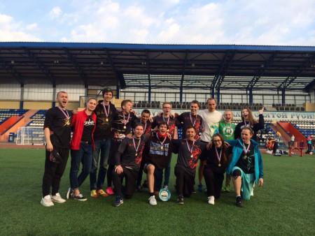 Команда SouthWest United натурнире 1 этап МЛР 2016 (Микс дивизион, 1/8)