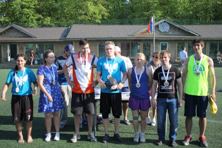 Команда Мурманск натурнире МФЛД 2016 (PRO дивизион, 3/10)