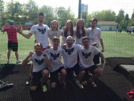 Команда Хабаровск натурнире МФЛД 2016 (AM дивизион, 5/10)