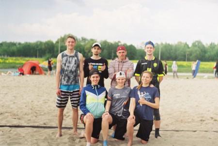 Команда АЛЬГАМБРА натурнире Spring Beach Hat 2016 (Микс дивизион, 4/8)