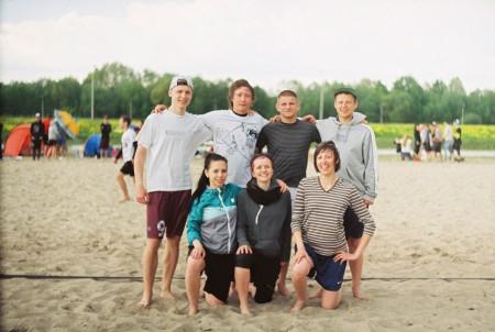 Команда СТОУНХЭНДЖ натурнире Spring Beach Hat 2016 (Микс дивизион, 6/8)