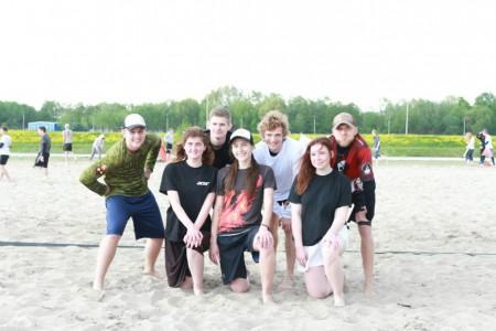 Команда МАЧУ-ПИКЧУ натурнире Spring Beach Hat 2016 (Микс дивизион, 8/8)