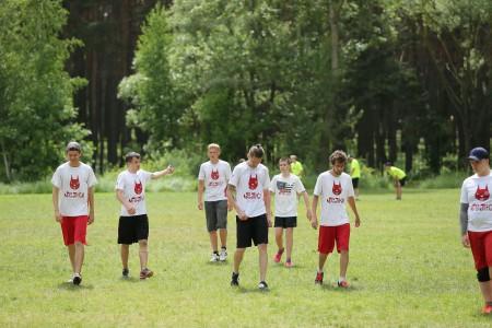 Команда Белки натурнире Open AIR 2016 (ОД, 5-6/9)