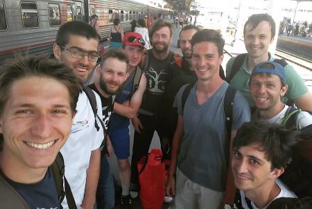 Команда ЮПитер натурнире Open AIR 2016 (ОД, 5-6/9)