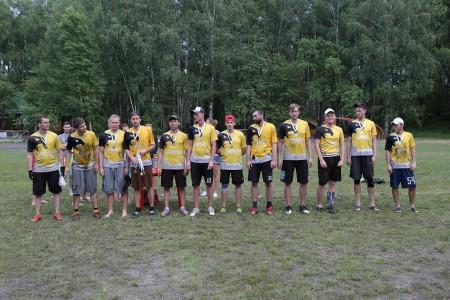 Команда Сокол натурнире Open AIR 2016 (ОД, 2/9)