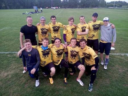 Команда OksiDisko натурнире 1-й этап Финской Лиги 2016 (ОД, 9/12)