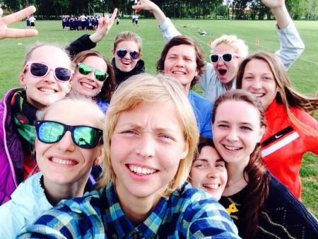 Команда Cosmic Girls натурнире 1-й этап Финской Лиги 2016 (ЖД, 3/10)