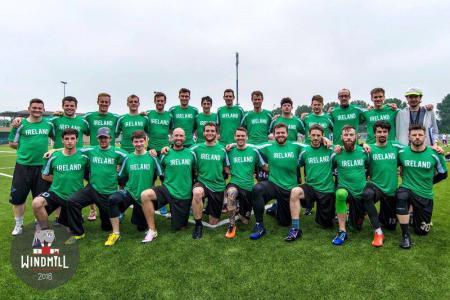 Команда Ireland Open National Team натурнире Windmill Windup 2016 (ОД, 3/24)