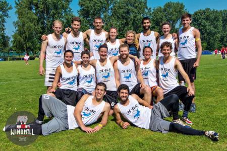 Команда Oy Vey! натурнире Windmill Windup 2016 (Микс дивизион, 24/40)