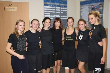 Команда ЮПитер натурнире СМАРТ 2010 (ЖД, 1/5)