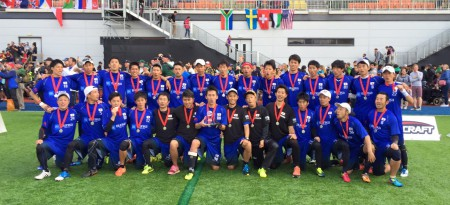 Команда Япония натурнире WUGC 2016 (Men, 2/30)