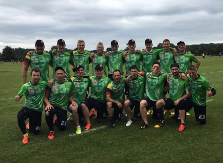 Команда Литва натурнире WUGC 2016 (Men, 29/30)