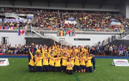 Команда Колумбия натурнире WUGC 2016 (Women, 2/26)