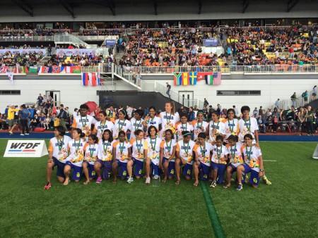 Команда Индия натурнире WUGC 2016 (Women, 25-26/26)