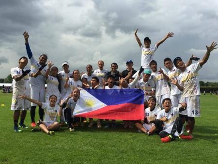Команда Филиппины натурнире WUGC 2016 (Mixed, 7/30)