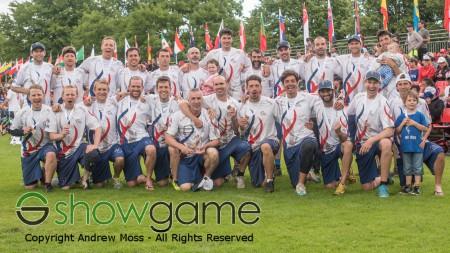 Команда Великобритания натурнире WUGC 2016 (Master Men, 3/17)