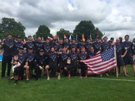 Команда США натурнире WUGC 2016 (Master Men, 1/17)