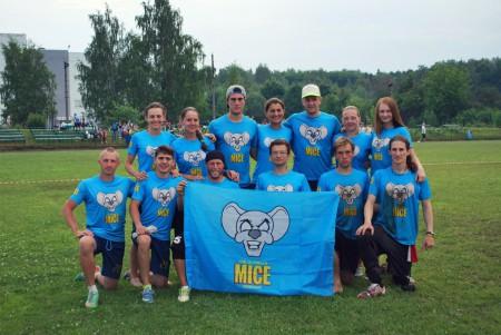 Команда MICE натурнире 2 этап МЛР 2016 (Микс дивизион, 4/10)