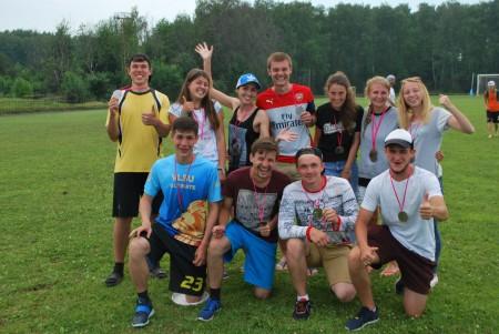 Команда Bright Vladimir натурнире 2 этап МЛР 2016 (Микс дивизион, 8/10)
