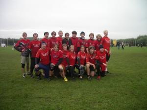Команда Флаинг Степс натурнире ОЧР 2010 (ОД, 11/12)
