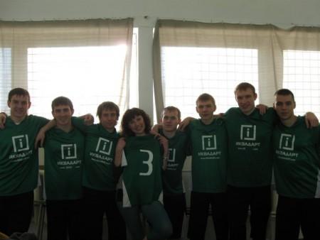 Команда Гринс натурнире Winter Brest 2010 (ОД, 7/11)
